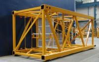 Building cranes sections